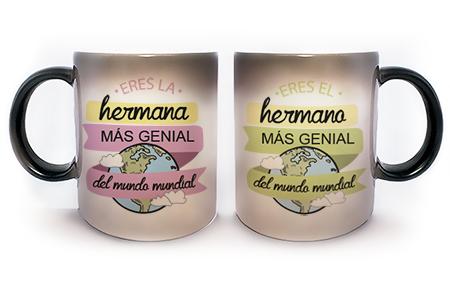tazas personalizadas para empresa HERMANOS